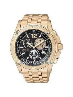 Citizen Eco-Drive Rose Gold Perpetual Calendar 200m BL5373-53E Men's Watch
