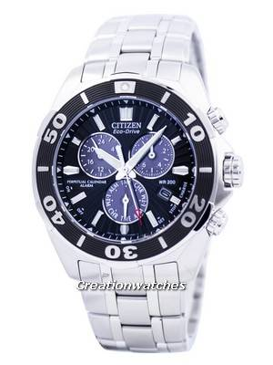 Citizen Eco-Drive Perpetual Calendar Chronograph BL5440-58E Men's Watch
