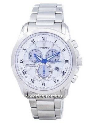 Citizen Eco-Drive Chronograph Perpetual Calendar BL5540-53A Men's Watch