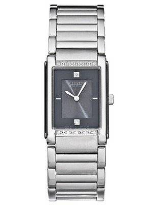 Citizen Eco-Drive Diamonds Accented BL6020-58E Men's Dress Watch
