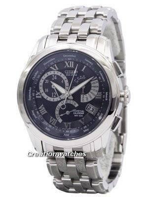 CITIZEN Eco-Drive Alarm Perpetual Calendar BL8001-58L/BL8009-76L Men's Watch