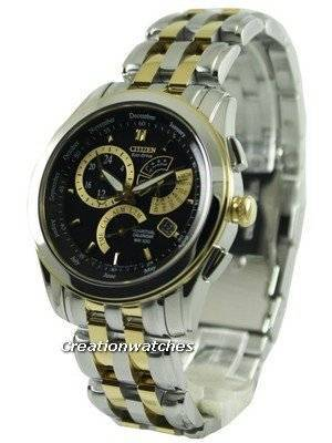 Citizen Eco-Drive Perpetual Calendar Sapphire BL8005-77E Men's Watch