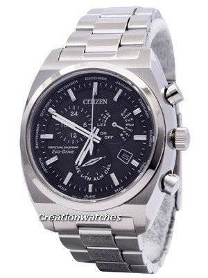 Citizen Eco-Drive Perpetual Calendar 100M BL8130-59E Men's Watch