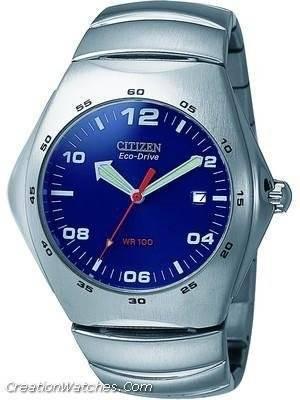 Citizen Eco-Drive 100m Men's Watch BM1050-58L BM1050