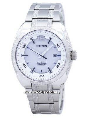 Citizen Eco-Drive Titanium Analog Japan Made BM6901-55B Men's Watch