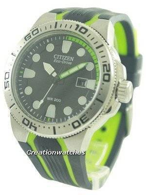 Citizen Eco-Drive Scuba Fin Diver's BN0090-01E Men's Watch
