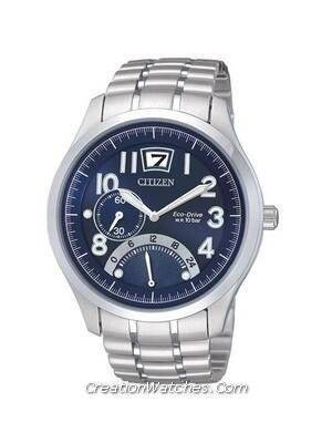 Citizen Retrograde Dual Time Men's Eco-Drive BR0020-52L