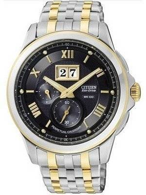Citizen Dual Tone Twin Date Perpetual Calendar BT0005-62E Mens Watch
