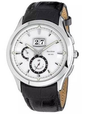 Citizen Eco-Drive Twin Date Collection Perpetual Calendar BT0010-03A Men's Watch