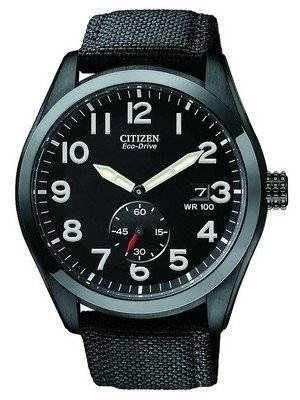 Citizen Eco-Drive Canvas Strap BV1085-06E Men's Watch