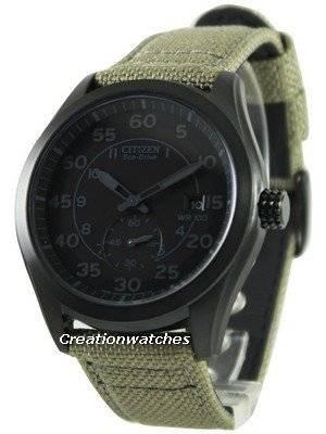 Citizen Eco-Drive Canvas Strap BV1085-31E Men's Watch