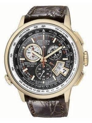 Citizen Eco Drive Chronograph Alarm BY0003-07E BY0003 Limited Edition Atomic Men's Watch