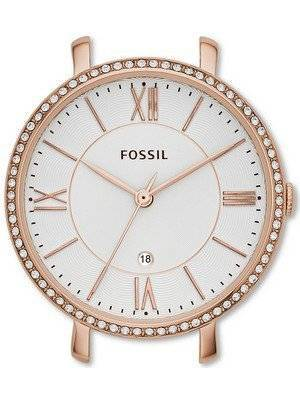 Fossil Jacqueline Date Display Stainless Steel C141016 Women's Watch