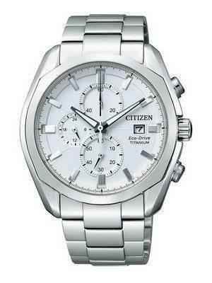 Citizen Eco-drive Chronograph Super Titanium CA0021-53A Mens Watch