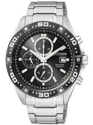 Citizen Eco-Drive Chronograph Titanium Sports CA0030-61E Men's Watch