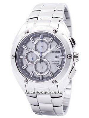 Citizen Eco-Drive Chronograph Super Titanium CA0210-51A Men's Watch