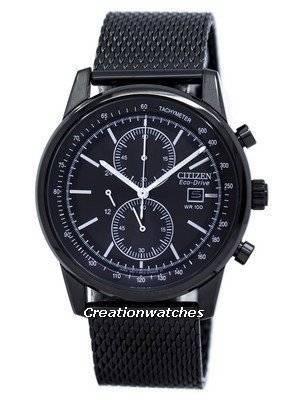 Citizen Eco-Drive Chronograph Tachymeter CA0338-57E Men's Watch