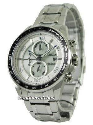 Citizen Eco Drive Titanium Chronograph CA0340-55A Men's Watch