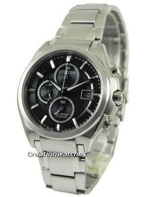 Citizen Eco Drive Super Titanium Chronograph CA0350-51E Men's Watch