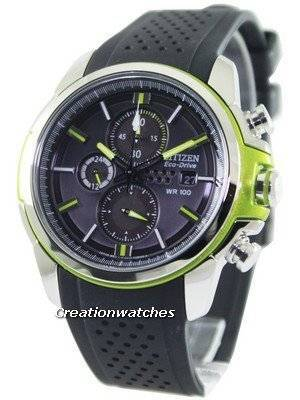 Citizen Eco-Drive AR Chronograph CA0427-08E Men's Watch