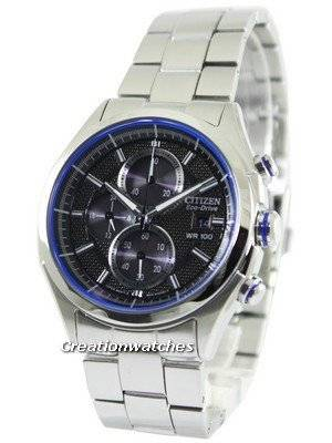 Citizen Eco-Drive HTM Chronograph CA0431-51E Men's Watch