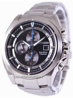 Citizen Eco-Drive Titanium Chronograph CA0550-52E Men's Watch