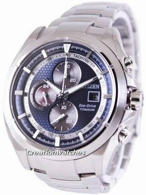 Citizen Eco-Drive Titanium Chronograph CA0550-52L Men's Watch