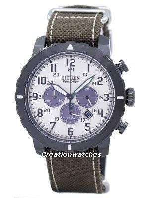 Citizen Military Eco-Drive Chronograph CA4095-04H Men's Watch