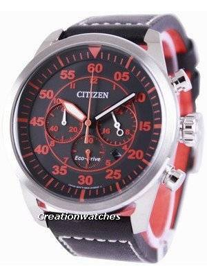 Citizen Eco-Drive Aviator Chronograph CA4210-08E Men's Watch