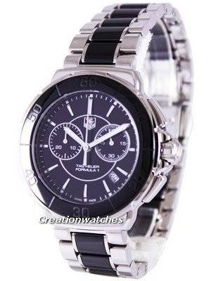 Tag Heuer Formula 1 Ceramic Chronograph 200M CAH1210.BA0862 Women's Watch