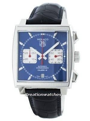 Tag Heuer Monaco Automatic Chrongraph Calibre 12 Swiss Made CAW2111.FC6183 Men's Watch