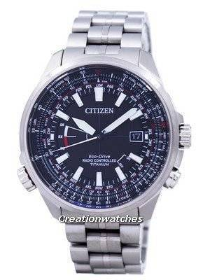 Citizen Eco-Drive Radio Controlled Perpetual Calendar World Time CB0141-55E Men's Watch