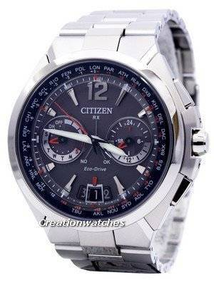 Citizen Eco-Drive Attesa Satellite Wave Air GPS 100M CC1091-50E Men's Watch