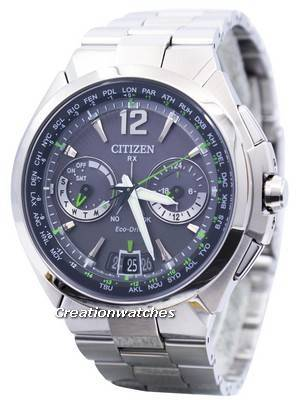 Citizen Eco-Drive Attesa Satellite Wave Air GPS 100M CC1091-50F Men's Watch