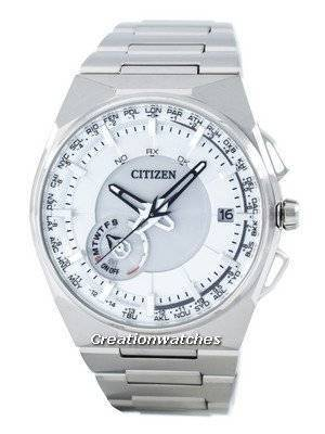 Citizen Eco-Drive Titanium Satellite Wave GPS World Time CC2001-57A Men's Watch