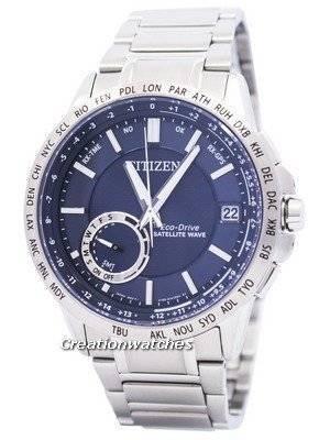 Citizen Eco-Drive Satellite Wave World Time GPS CC3000-89L Men's Watch
