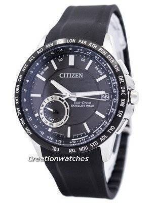 Citizen Eco-Drive Satellite Wave World Time GPS CC3005-00E Men's Watch