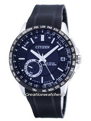 Citizen Eco-Drive Satellite Wave GPS World Time Power Reserve CC3005-18E Men's Watch
