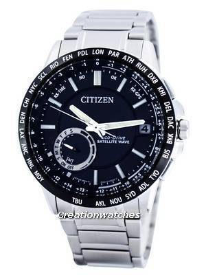 Citizen Eco-Drive Satellite Wave GPS World Time Power Reserve CC3005-51E Men's Watch