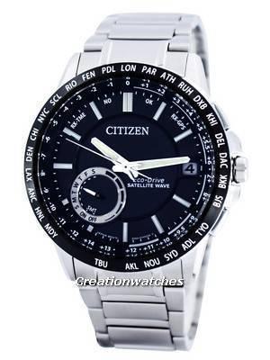 Citizen Eco-Drive Satellite Wave GPS World Time Power Reserve CC3005-51E Men's Watch