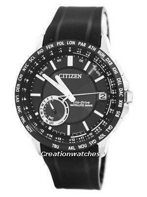 Citizen Eco-Drive Satellite Wave World Time Japan Made CC3007-04E Men's Watch