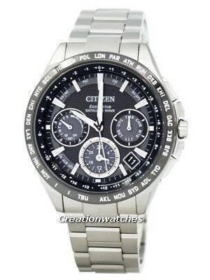 Citizen Eco-Drive Titanium Satellite Wave World Time CC9015-54E Men's Watch