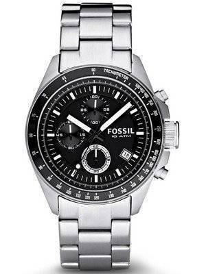 Fossil Decker Chronograph Black Dial CH2600 Men's Watch