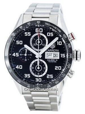 Tag Heuer Carrera Chronograph Automatic Calibre 16 Swiss Made CV2A1R.BA0799 Men's Watch