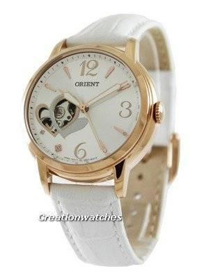 ORIENT Automatic Open Heart Happy Stream Collection DB0700DW Women's Watch