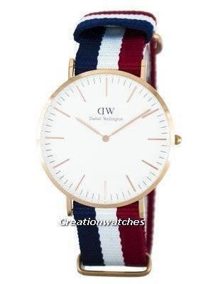 Daniel Wellington Classic Cambridge Quartz DW00100003 (0103DW) Men's Watch