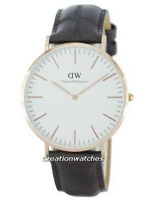 Daniel Wellington Classic York Quartz DW00100011 (0111DW) Men's Watch