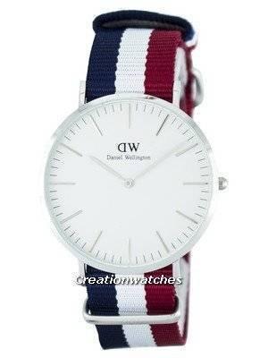Daniel Wellington Classic Cambridge Quartz DW00100017 (0203DW) Men's Watch