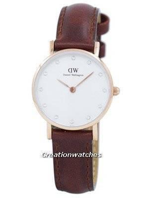 Daniel Wellington Classy St Mawes Quartz Crystal Accent DW00100059 (0900DW) Women's Watch