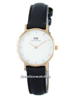 Daniel Wellington Classy Sheffield Quartz Crystal Accent DW00100060 (0901DW) Women's Watch